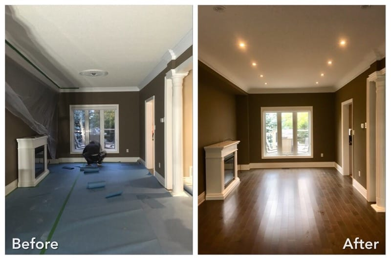 Adding recessed lighting